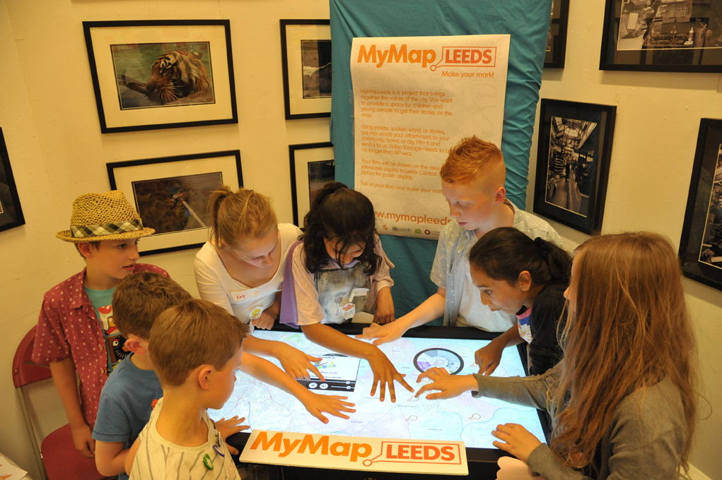 MyMapLeeds launch at the central library