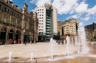 City square, Leeds