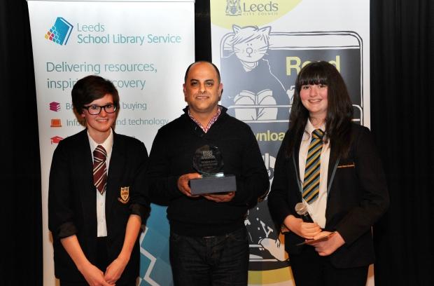 Bali Rai won an award for his book 'Web of Darkness'