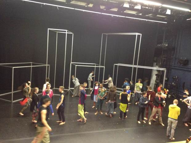 Dancers get together to explore 'frames'