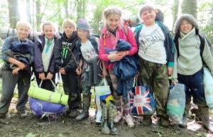 Bushcraft Into the Wilderness Kids - compressed