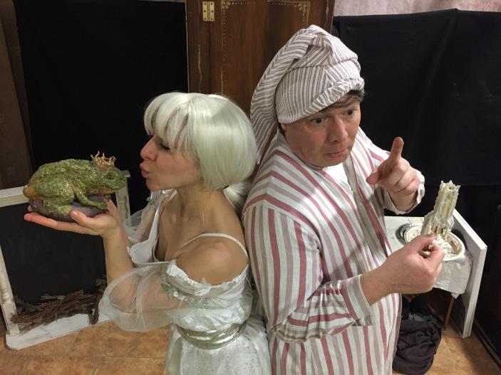 Scrooge & Ghost