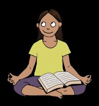 Meditating reading